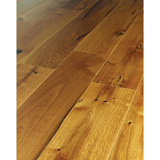 Westco Kenaro Oak Real Wood Flooring - Engineered Wood Flooring Real Wood Top Layer Wickes.co.uk