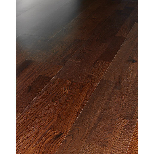 Wickes merbau oak real wood top layer engineered wood for Floating engineered wood flooring