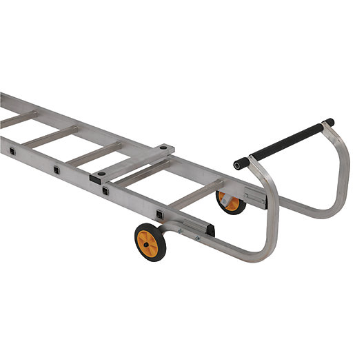 Youngman Aluminium Roof Ladder   Max Height 4.24m | Wickes.co.uk
