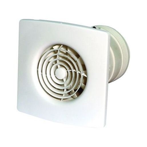 Mouse over image for a closer look. Wickes Low Noise Extractor Fan with Timer 100mm   Wickes co uk