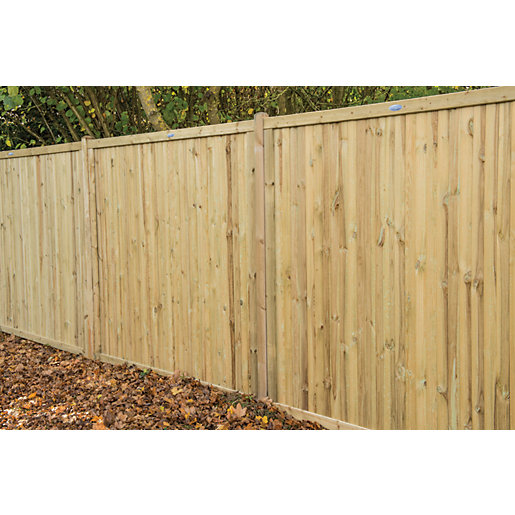 Forest Garden Acoustic Fence Panel 6 X 6ft Pack Of 5