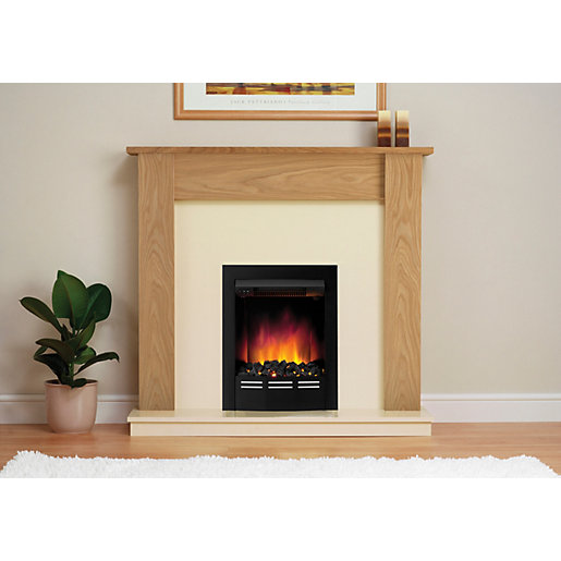 be modern bromley electric fire suite. Black Bedroom Furniture Sets. Home Design Ideas