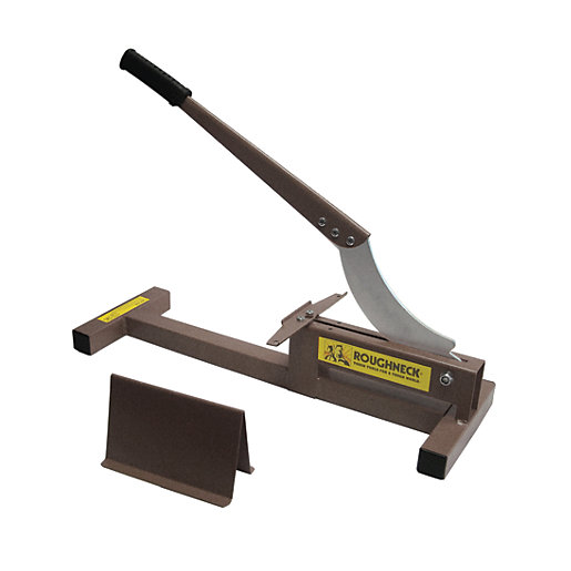 Cutting Laminate Flooring using the angle finder tool to cut angles when installing laminate flooring Roughneck Laminate Flooring Cutter Mouse Over Image For A Closer Look
