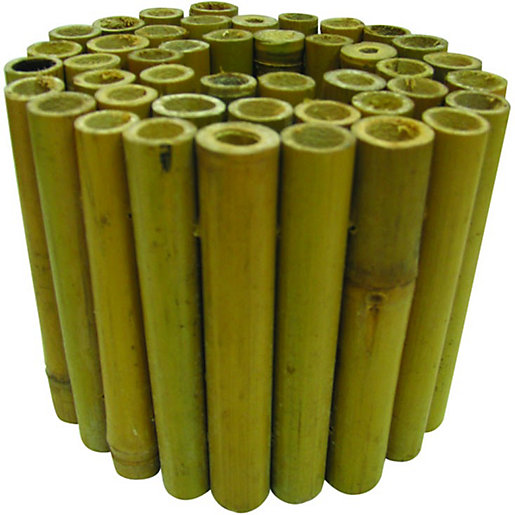 wickes bamboo edging roll 150 x mm - Garden Edging