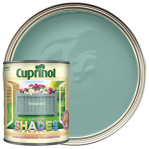 Cuprinol Garden Shades Seagrass 1l Wickes Co Uk