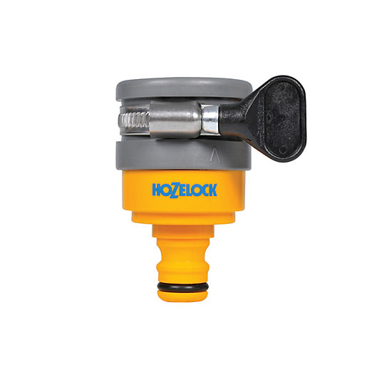 Hozelock Round Garden Hose Mixer Tap Connector Wickescouk