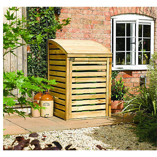 Pleasant Garden Storage  Wickescouk With Outstanding Rowlinson Single Wooden Bin Store Natural With Alluring Kensington Roof Gardens New Years Eve Also China Garden Wisbech In Addition Rhs Garden And Chalk Garden As Well As Kew Gardens Ny Additionally Garden Design Software Free Download From Wickescouk With   Alluring Garden Storage  Wickescouk With Pleasant Chalk Garden As Well As Kew Gardens Ny Additionally Garden Design Software Free Download And Outstanding Rowlinson Single Wooden Bin Store Natural Via Wickescouk