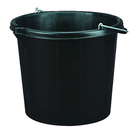 wickes durable plastic general use and builders bucket 14l