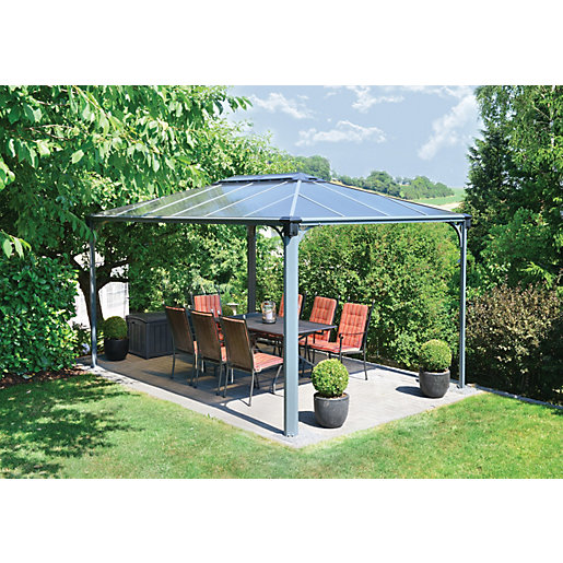 Gazebos Canopies Garden Sheds Greenhouses Wickescouk