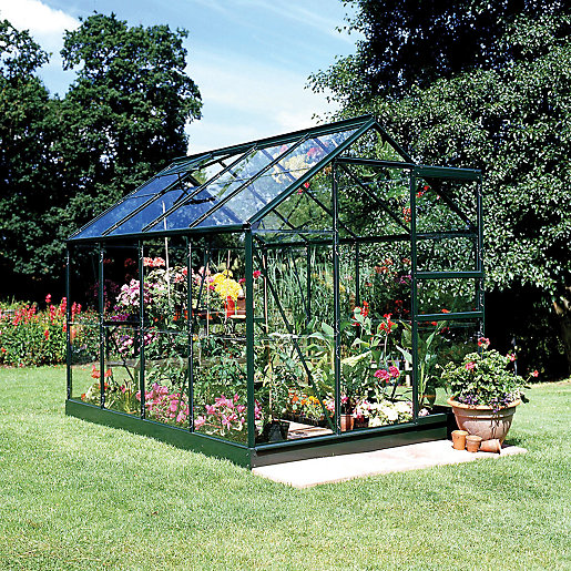 Greenhouse Garden Sheds Greenhouses Wickescouk