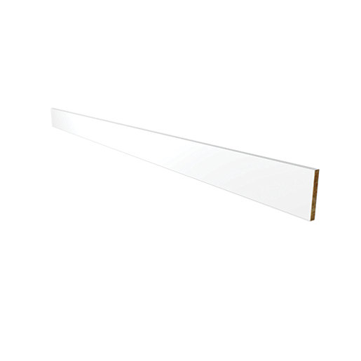Wickes Hertford White Plinth   2.5 M | Wickes.co.uk