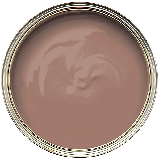 Wickes Colour Home Vinyl Matt Emulsion Paint Mocha 2