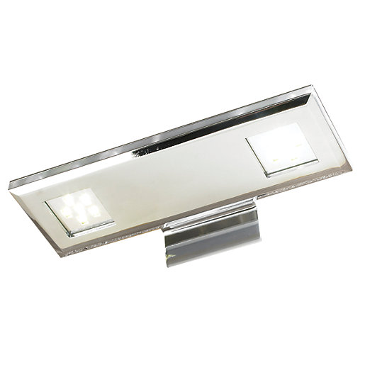 Over Cabinet Lighting For Kitchens: Wickes Asti Polished LED Over Cabinet Light