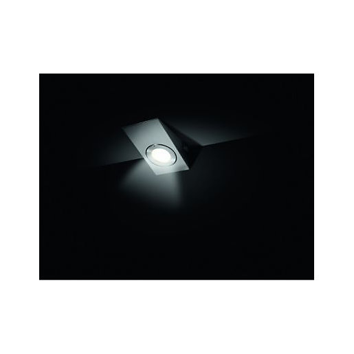 Wickes Darwin Brushed Chrome Halogen Cabinet Downlight