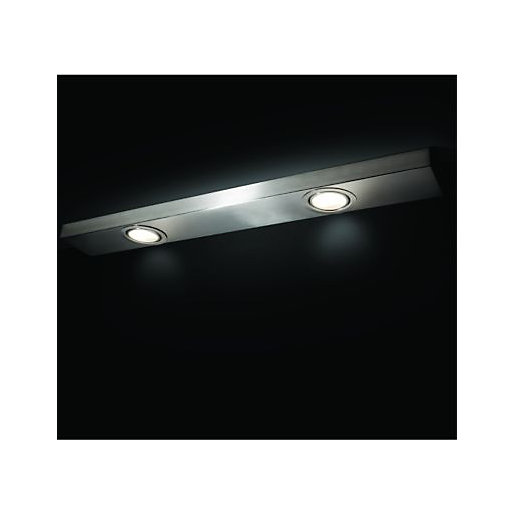 Wickes Melbourne Chrome Halogen Under Cabinet Twin