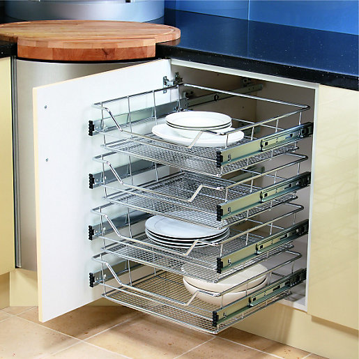 Kitchen Storage Solutions | Kitchen Accessories | Wickes.Co.Uk