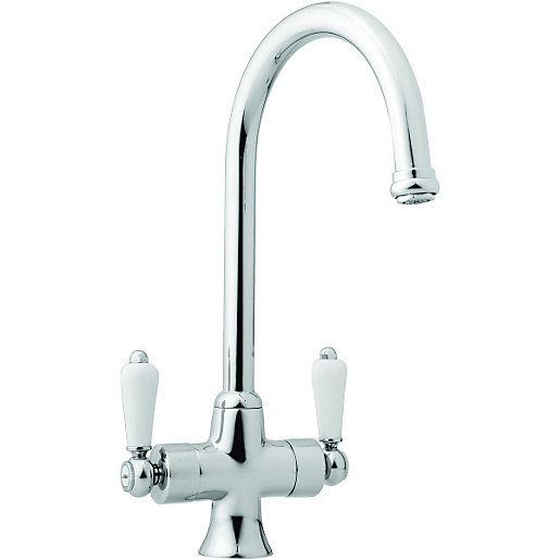 wickes toba mono mixer kitchen sink tap chrome - Kitchen Sink Uk