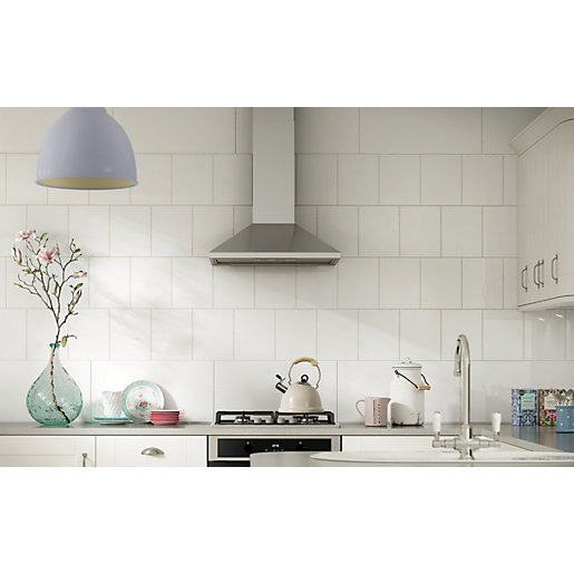 White Kitchen Wall Tiles ceramic tile for kitchen wall