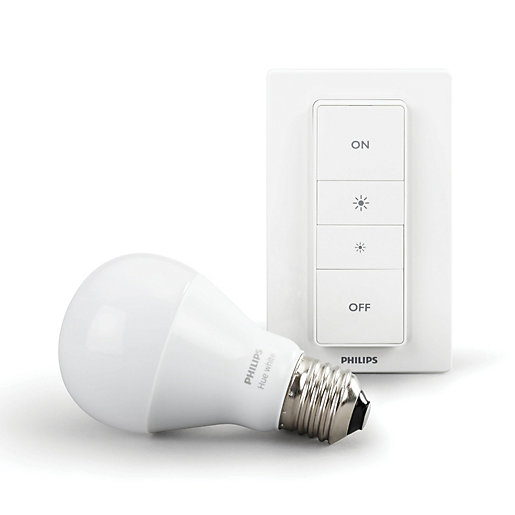 philips hue smart personal lighting wireless bulbs starter dimming kit. Black Bedroom Furniture Sets. Home Design Ideas