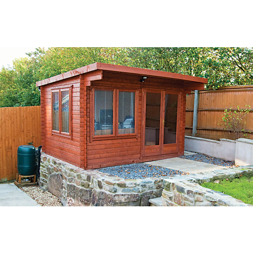 Shire Danbury Double Door Garden Home Office Cabin