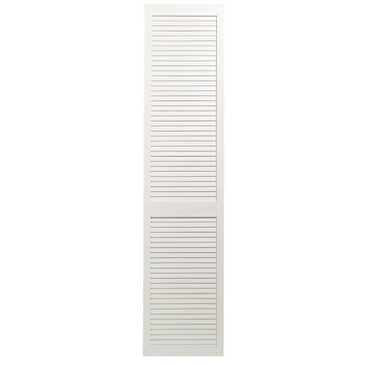 Wickes Internal Closed Louvre Door White Primed 1981 x 457mm