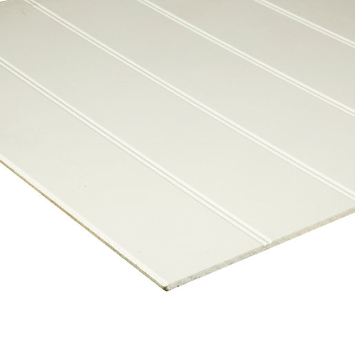 Wickes Mdf Primed Beaded Panel 6 X 607 X 1829mm Wickes Co Uk