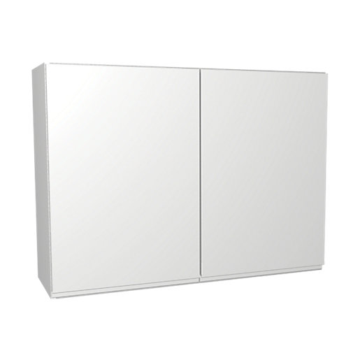 wickes madison white wall unit 1000mm | wickes.co.uk