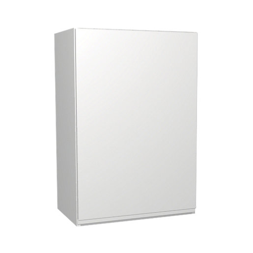 White Wall Unit wickes madison white wall unit 500mm | wickes.co.uk