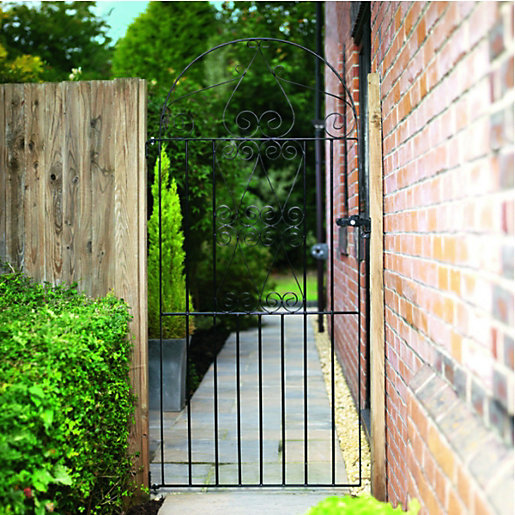Pleasing Metal Gates  Gates  Metal Railings Gardens  Wickes With Exciting Wickes Chelsea Bow Top Black Metal Gate Mm High  Fits Opening Of Mm With Comely Garden Centre Denham Also Formal Garden Runescape In Addition Garden Wheels And Isle Of Wight Garden Centres As Well As Garden Square Chambers Additionally Ornamental Garden From Wickescouk With   Comely Metal Gates  Gates  Metal Railings Gardens  Wickes With Pleasing Isle Of Wight Garden Centres As Well As Garden Square Chambers Additionally Ornamental Garden And Exciting Wickes Chelsea Bow Top Black Metal Gate Mm High  Fits Opening Of Mm Via Wickescouk