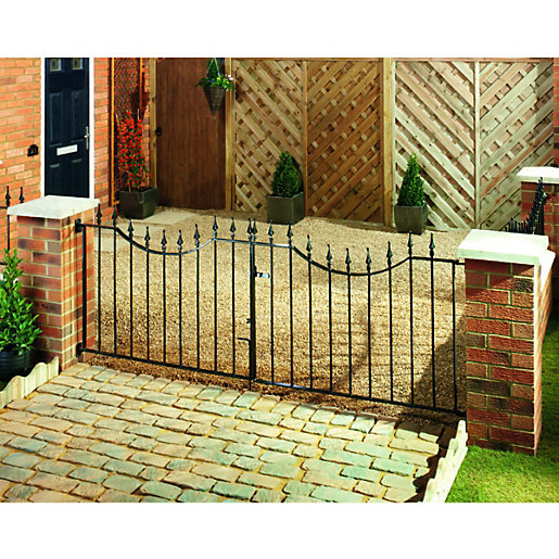 Winsome Metal Gates  Gates  Metal Railings Gardens  Wickes With Remarkable Wickes Windsor Driveway Black Metal Gate Mm High  Fits Opening Of Mm With Adorable Home And Garden Harrogate Also Plants Vs Zombies Garden Warfare  In Addition Homebase Plastic Garden Chairs And Building A Garden Shed As Well As Wwwgardenerscom Additionally Patisserie Valerie London Covent Garden From Wickescouk With   Remarkable Metal Gates  Gates  Metal Railings Gardens  Wickes With Adorable Wickes Windsor Driveway Black Metal Gate Mm High  Fits Opening Of Mm And Winsome Home And Garden Harrogate Also Plants Vs Zombies Garden Warfare  In Addition Homebase Plastic Garden Chairs From Wickescouk