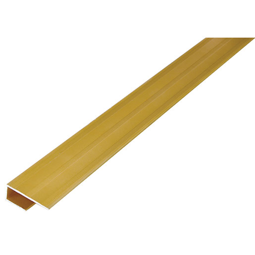 Wickes Flooring Step Edge Gold 1 8m Wickes Co Uk