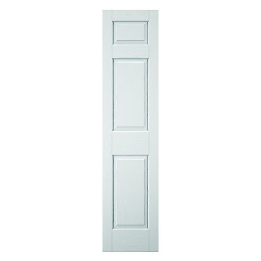 wickes woburn internal white primed 3 panel moulded door. Black Bedroom Furniture Sets. Home Design Ideas