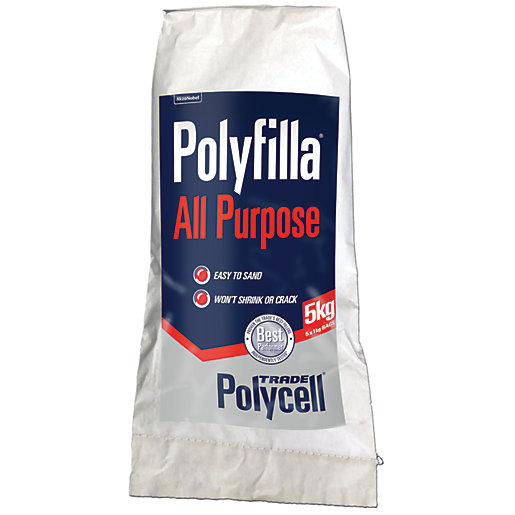 how to use polyfilla powder