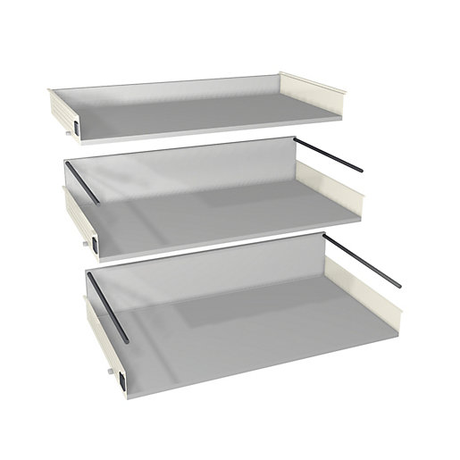 wickes 3 pan drawer set 900mm part 2 of 2