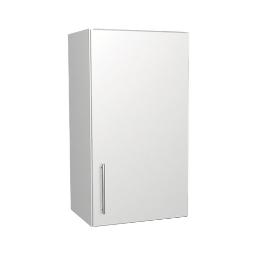 wickes orlando white wall unit 400mm | wickes.co.uk