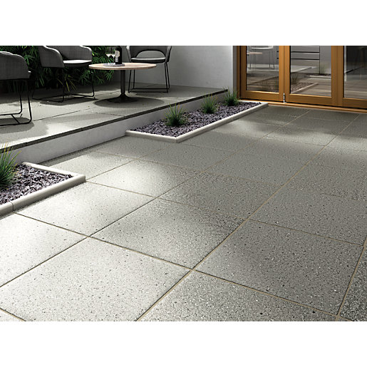 Marshalls Argent Coarse 600 X 600 X 38mm Single Dark Grey