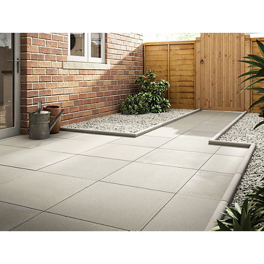 Marshalls Richmond Smooth Natural 600 X 600 X 38mm Paving Slab