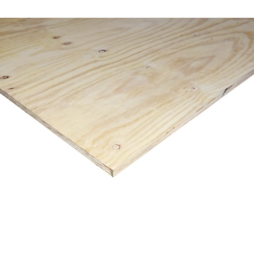 Structural Softwood Plywood Ce2 18x1220x2440mm Wickes Co Uk