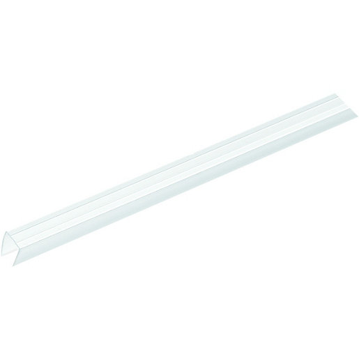 wickes clear end closure for 10mm polycarbonate sheets 2100mm. Black Bedroom Furniture Sets. Home Design Ideas