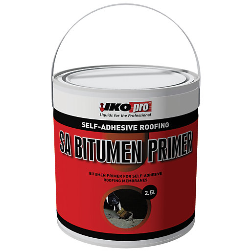 Ikopro Self Adhesive Bitumen Primer 2 5l Wickes Co Uk