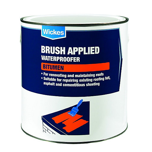 sc 1 st  Wickes & Wickes Brush Applied Bitumen Roof Waterproofer 2.5L | Wickes.co.uk memphite.com