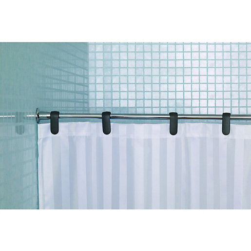 Shower Rails and Curtains | Shower Accessories | Wickes.co.uk