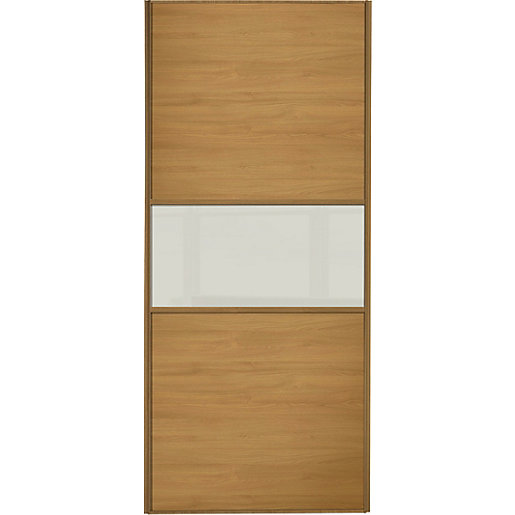 Wickes Sliding Wardrobe Door Fineline Oak Panel Amp Soft