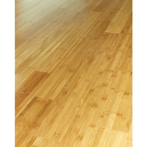 Westco Dark Tanned Bamboo Solid Wood Flooring - Wood Flooring - Oak, Bamboo & Solid Wood Flooring Wickes.co.uk