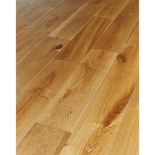 Wickes Harvest Oak Solid Wood Flooring | Wickes.co.uk