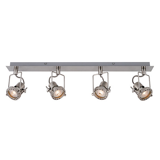 Kitchen ceiling lights wickes 28 images ceiling lights lighting kitchen ceiling lights wickes wickes studio led brushed chrome 4 bar spotlight 4 x 5 3w aloadofball Image collections
