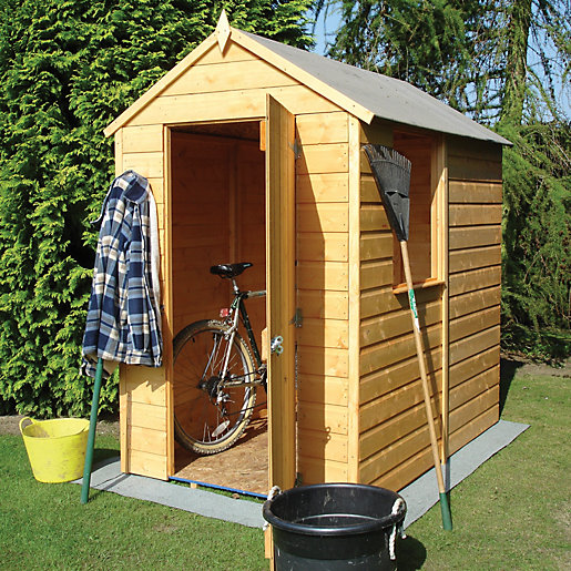 unique garden sheds shed storage apex roof double door - Garden Sheds 7x6
