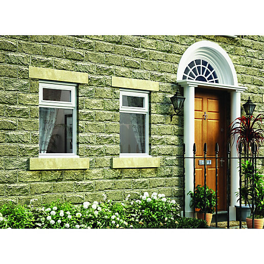 Bathroom Windows Wickes wickes timber b rated casement window white 1045x910mm top hung