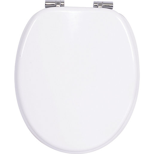 Soft Close Toilet Seat White becomes available again Mouse over image for a closer look Wickes co uk