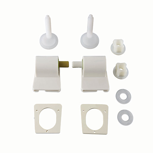 wickes white soft close plastic hinge pack. Black Bedroom Furniture Sets. Home Design Ideas